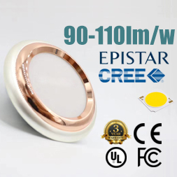 LED COB Plated Downlight